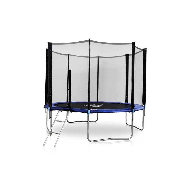 trampoline 4 3m filet de protection neuf dialstock. Black Bedroom Furniture Sets. Home Design Ideas