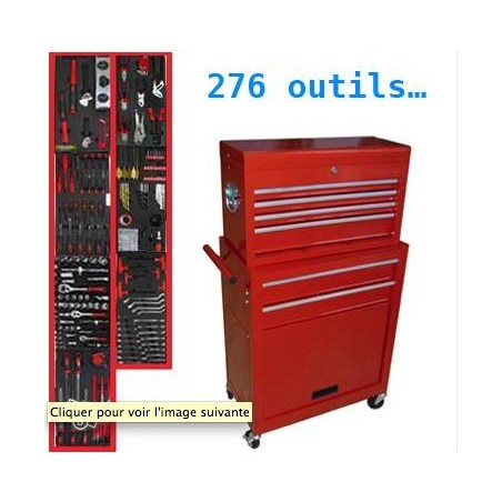 Servante d'atelier avec 280 outils !!! -NEUVE-