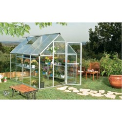 Serre de jardin polycarbonate 6,25m2