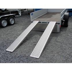 2x Rampes en alu - 400 kg - NEUF