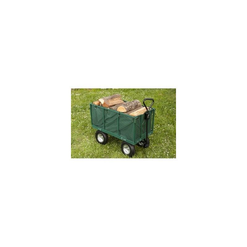 Chariot remorque jardin - max 550kg